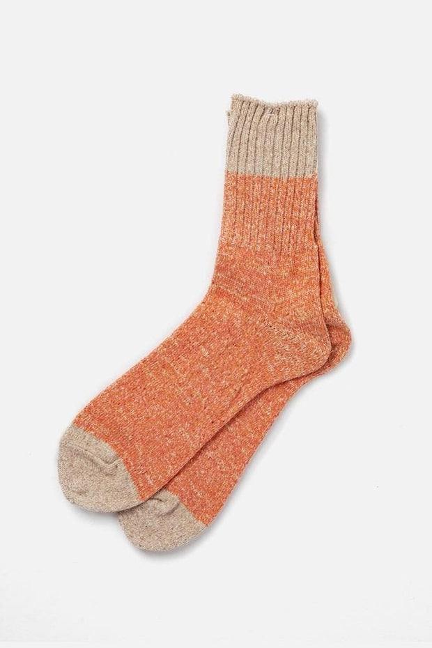 Anonymous Ism Recycled Linen Silk Socks Red