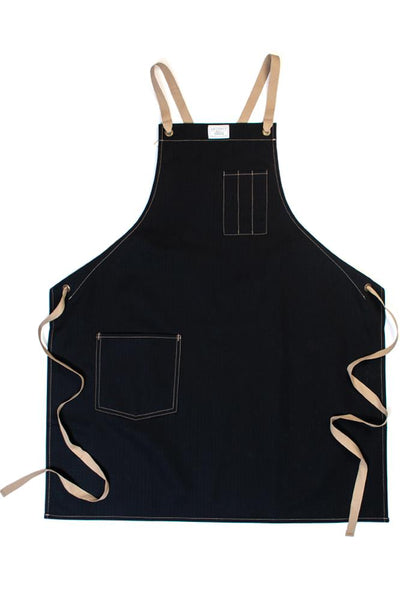 Artifact Culinary Apron Black Herringbone