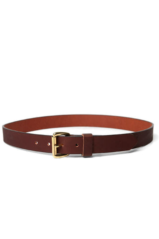 Bridge & Burn Leather Belt Brown