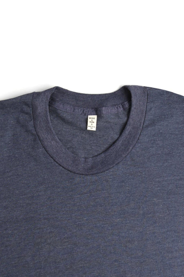 Women's Bridge & Burn Basic Tee Heather Navy