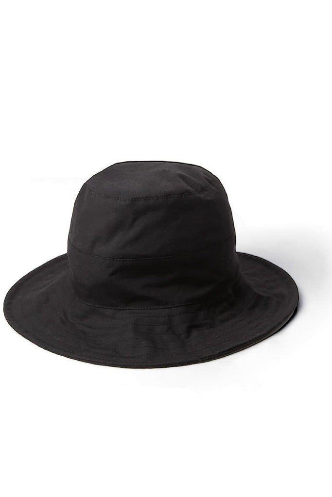 Bridge & Burn x Tsuyumi Wide Brim Hat Black