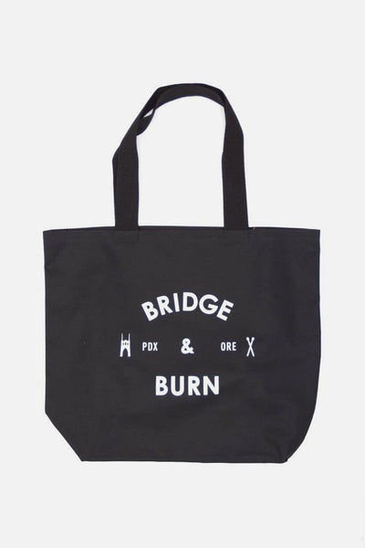 Bridge & Burn Badge Tote Black