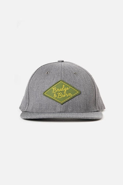 Bridge & Burn Diamond Head Cap Charcoal