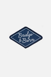 Diamond Logo Woven Patch Navy