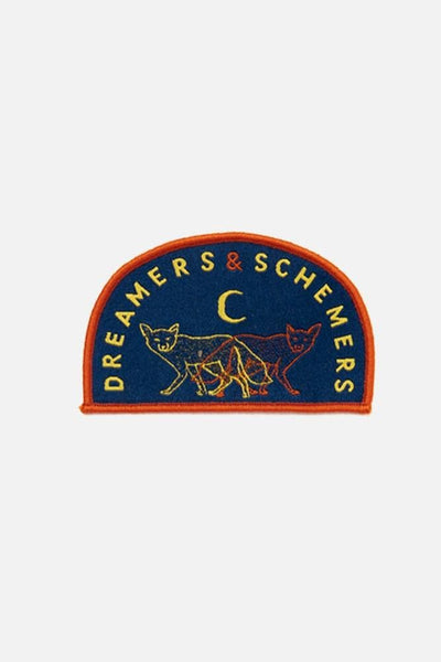 Bridge & Burn Dreamers & Schemers Woven Patch
