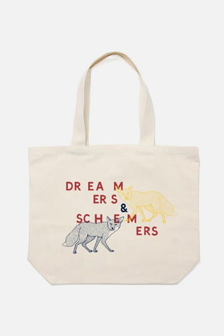 Dreamers & Schemers Tote Natural