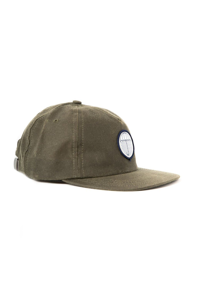 Bridge & Burn Make It Rain Trucker Cap Olive Waxed Canvas