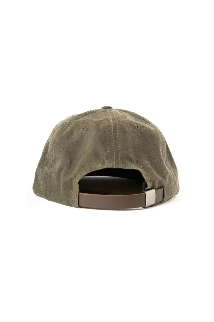Make It Rain Trucker Cap Olive Waxed Canvas