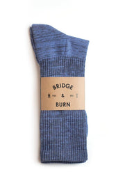 Marl Sock Blue