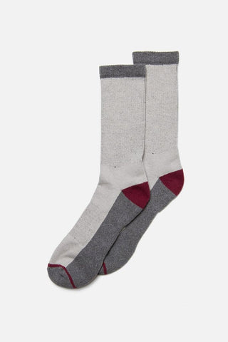 Rec Sock Light Grey