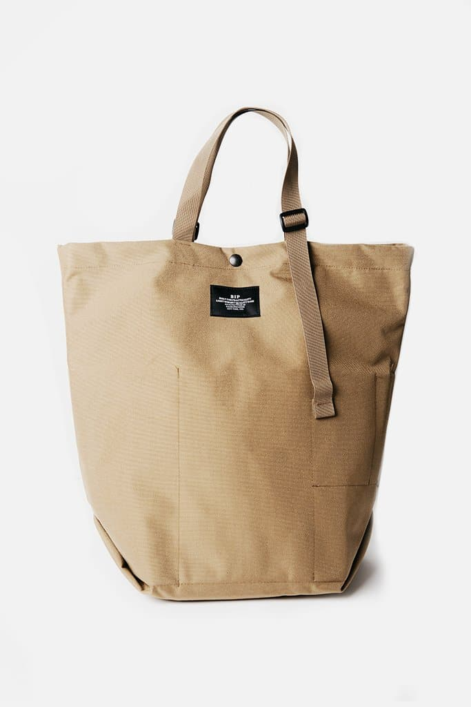 Bags in Progress Carry-All Tote Beige
