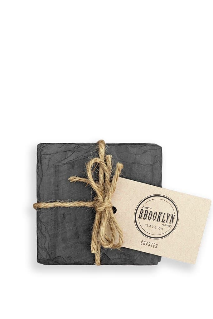 Brooklyn Slate Co. Beverage Coasters
