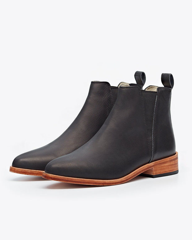 Nisolo Chelsea Boot Black
