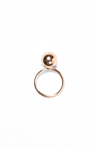 Common Muse Anais Ball Ring Gold