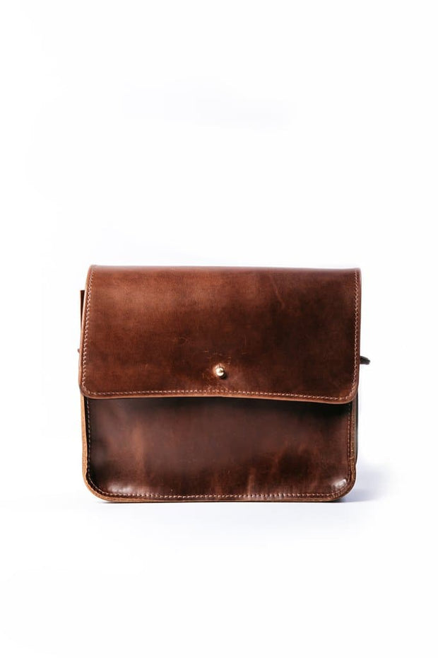 Erin Templeton Boxcar Purse Large Brown