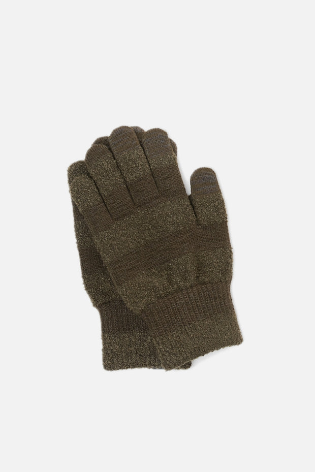 EvolG Knit Gloves Khaki