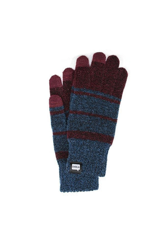 EvolG Atlus Gloves Wine Navy