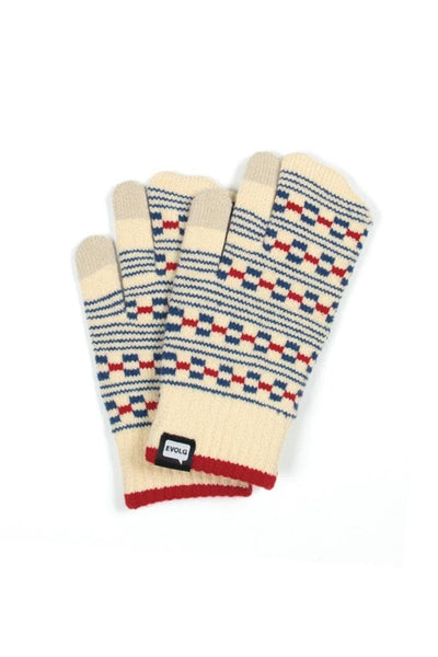 EvolG Block Gloves Off White