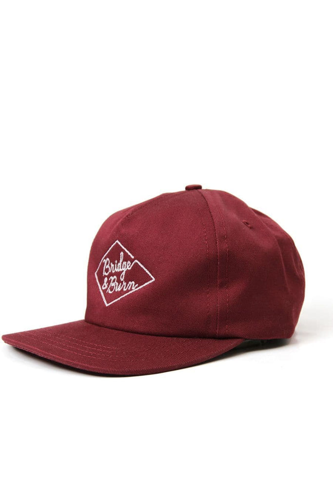 Diamond Head Cap Burgundy
