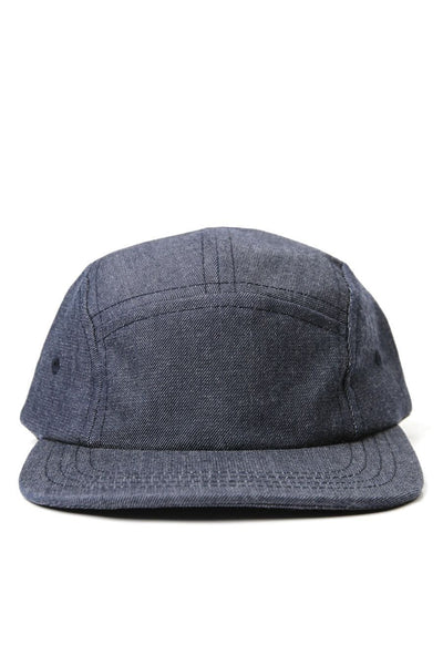 Camper 5 Panel Cap Water Repel Denim