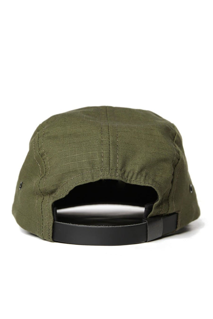 Search & Enjoy Camper 5 Panel Cap Olive Ripstop