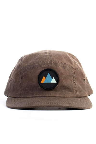 MTNS Trucker Cap Umber Waxed Canvas