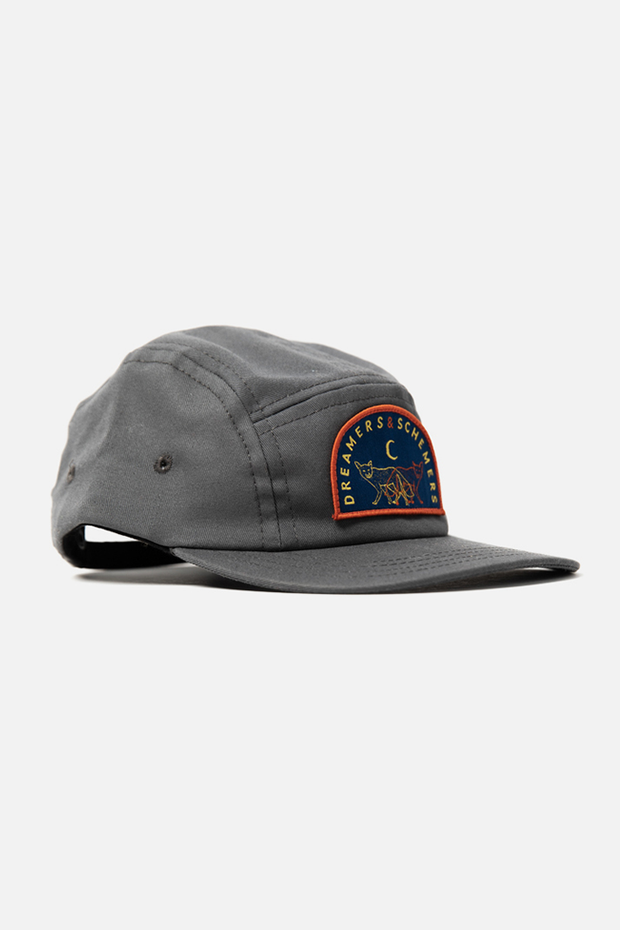 Bridge & Burn Dreamers & Schemers Camper Cap Charcoal Twill