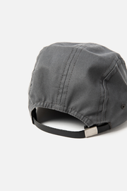 Dreamers & Schemers Camper Cap Charcoal Twill
