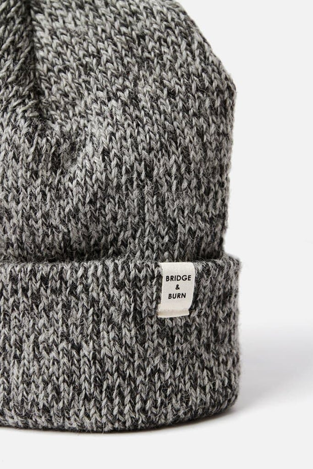 Ragg Wool Watch Cap Charcoal