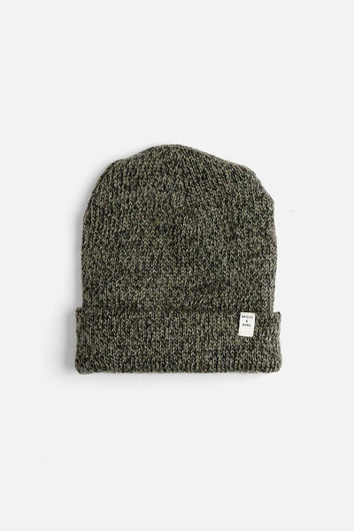 Bridge & Burn Ragg Wool Watch Cap Moss