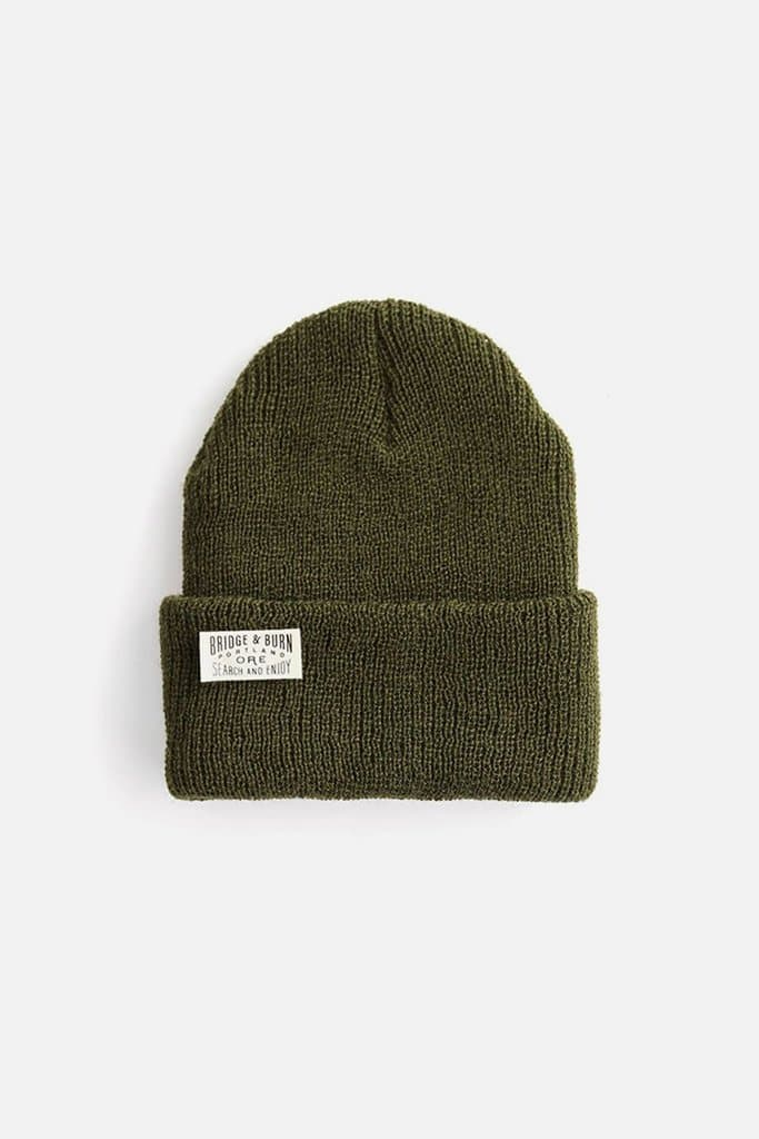 Search & Enjoy Watch Cap Olive