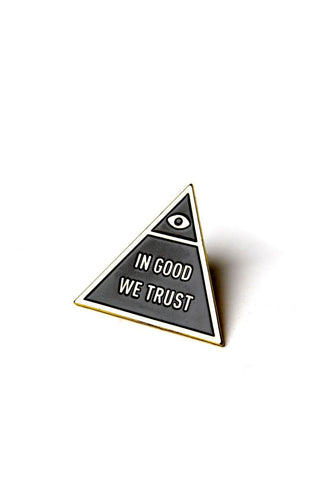 In Good We Trust Enamel Pin