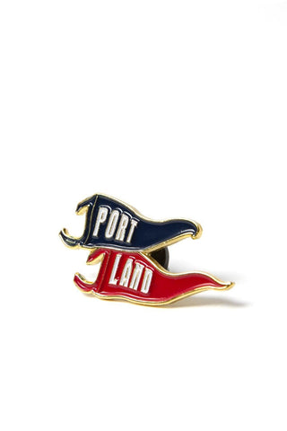 Portland Flags Enamel Pin