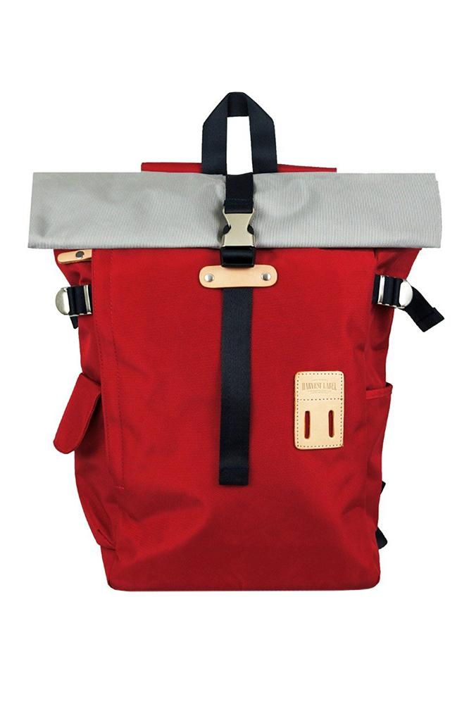 Harvest Lavel Rolltop Backpack 2.0 Red