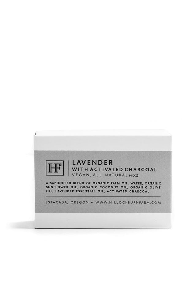 Hillockburn Farm Lavender Charcoal Soap