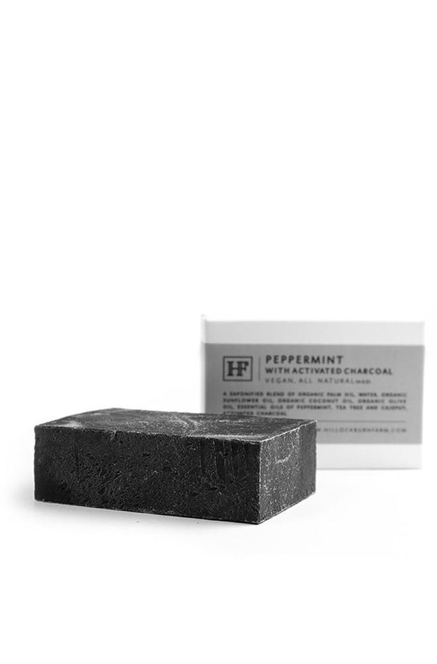 Hillockburn Farm Peppermint Charcoal Soap