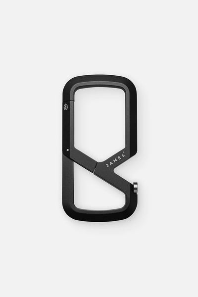 James Brand Mehlville Carabiner Black
