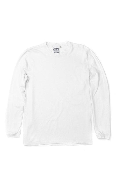 Jungmaven Baja Long Sleeve Top Optic White