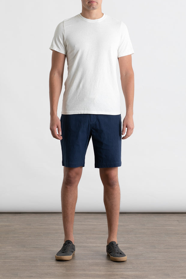Jungmaven Baja Short Sleeve Top Washed White