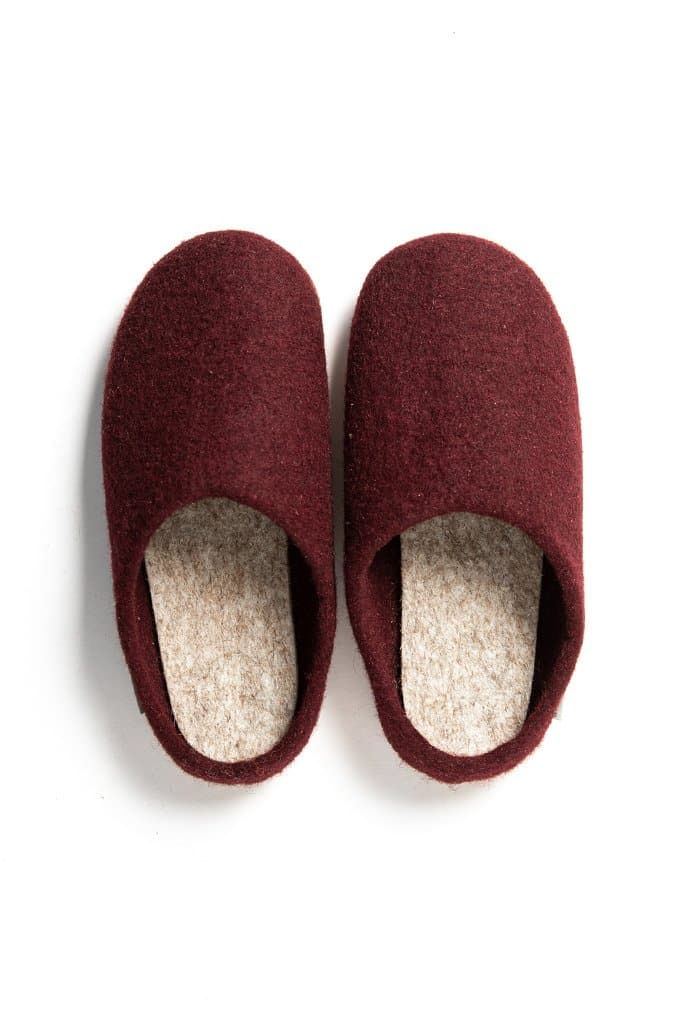 Kyrgies Low Back Slippers Port Natural