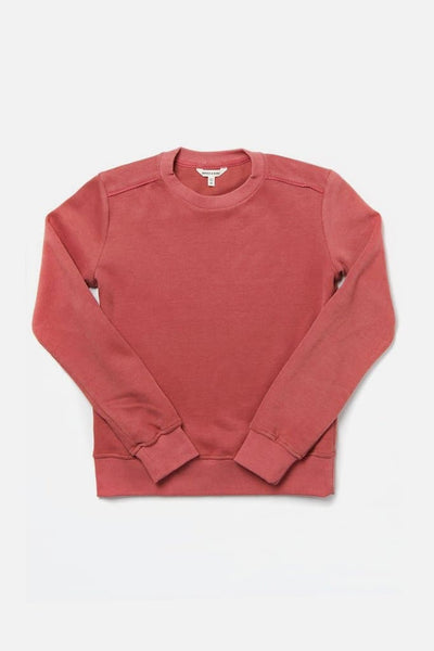 Bridge & Burn linnton rose women's plain crew neck sweatshirts