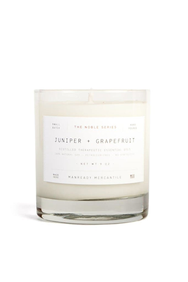 Manready Mercantile Juniper + Grapefruit Candle