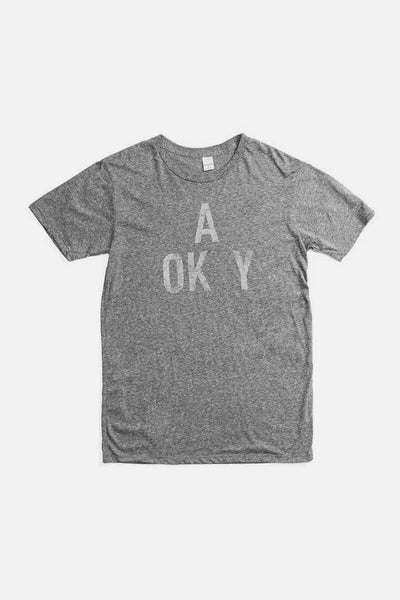 Men's A OK Grey