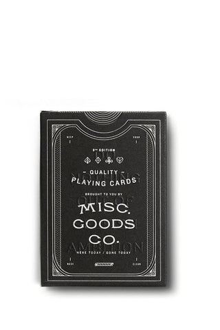 Misc. Goods Co. Cards Black