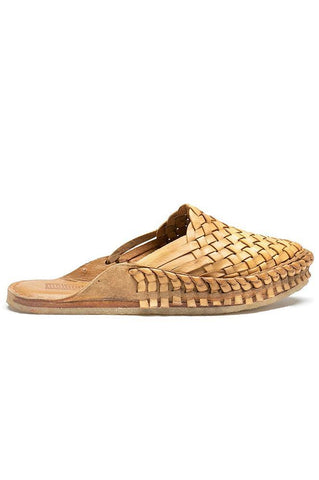 Mohinders City Slippers Woven Natural