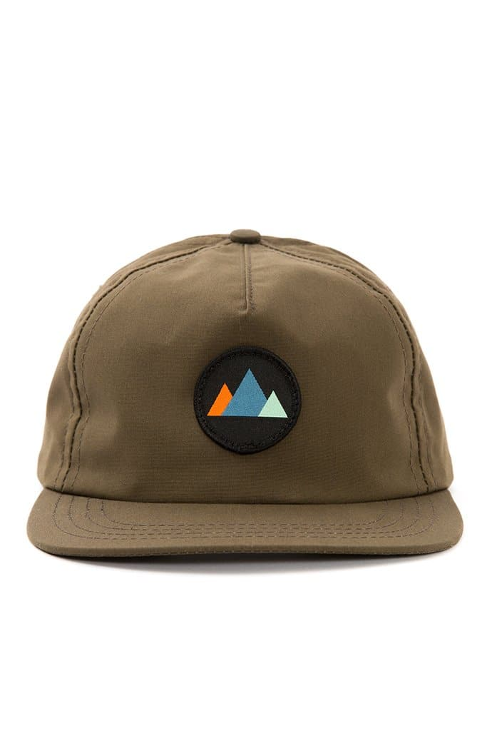 Mtns Trucker Cap Olive Waxed Canvas