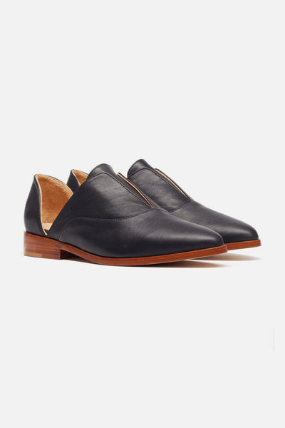 Nisolo Emma d'Orsay Oxford Black