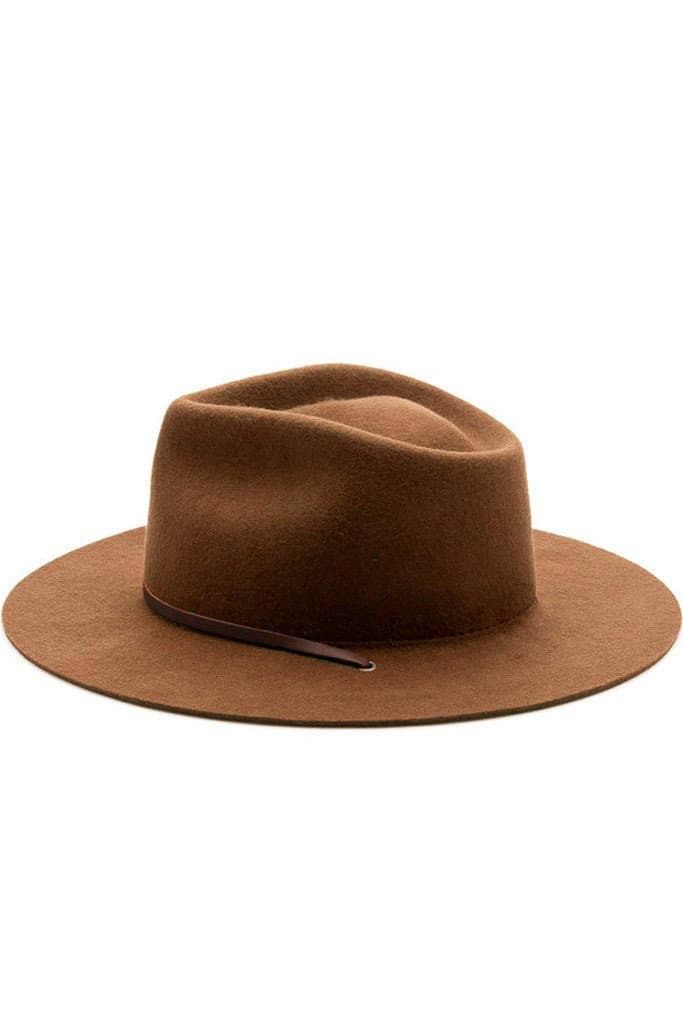 Eastwood Hat Caramel Wool