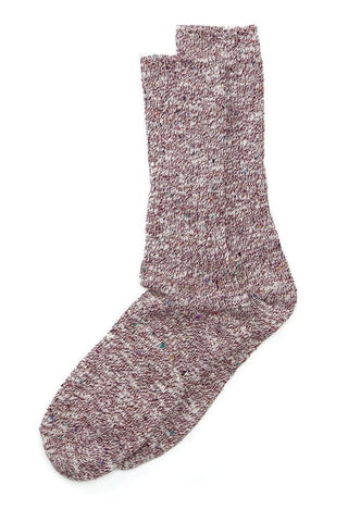 Two Feet Ahead Tweed Calf High Cranberry