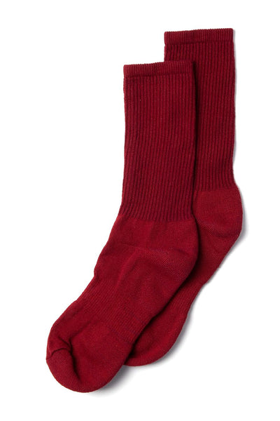 American Trench Mil-Spec Sport Sock Oxblood